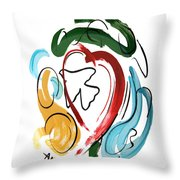 Come Into My Heart Throw Pillow by Anthony Falbo