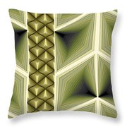 Composition 231 Throw Pillow by Terry Reynoldson
