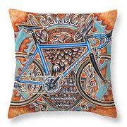 Condor Baracchi Throw Pillow by Mark Howard Jones