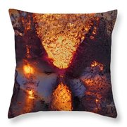 Connected Throw Pillow by Sami Tiainen