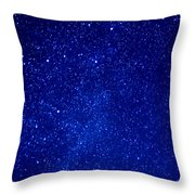 Constellation Cassiopeia  Throw Pillow by Thomas R Fletcher