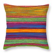 Contrast Throw Pillow by David K Small