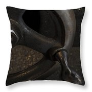 Control Throw Pillow by Andrew Pacheco