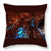 Corners of My Mind Throw Pillow by Louis Ferreira