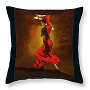Corporate Art 001  Throw Pillow by Catf