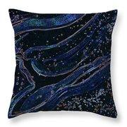 Cosmic Dancer by jrr Throw Pillow by First Star Art