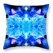 Cosmic Kaleidoscope 1 Throw Pillow by The  Vault - Jennifer Rondinelli Reilly