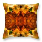 Cosmic Kaleidoscope 2  Throw Pillow by The  Vault - Jennifer Rondinelli Reilly