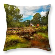 Country - Country Living Throw Pillow by Mike Savad