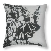 COUNTRY DANCE Throw Pillow by PainterArtist FIN