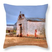 Cowboy Church Throw Pillow by Tap On Photo
