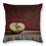 Cox Orange Apples Throw Pillow by Priska Wettstein