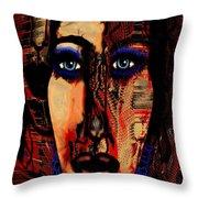 Creative Artist Throw Pillow by Natalie Holland