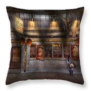 Creepy - Apocalyptic - Obedience And Compliance Throw Pillow by Mike Savad