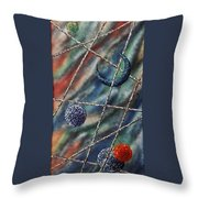 Crescent Throw Pillow by Micah  Guenther