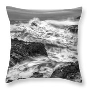 Cresting Wave Throw Pillow by Jon Glaser