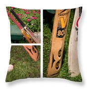 Cricket Series Throw Pillow by Tom Gari Gallery-Three-Photography