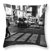 Crosswalk Throw Pillow by Dan Sproul