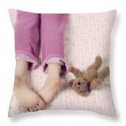 cuddle Throw Pillow by Joana Kruse