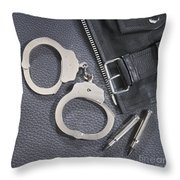 Cuffs Throw Pillow by Jerry McElroy