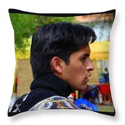 Cultural Blend Throw Pillow by Lew Davis