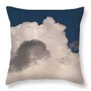 Cumulus Congestus Throw Pillow by Sue Smith