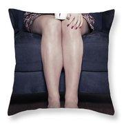 Cup Of Coffee Throw Pillow by Joana Kruse
