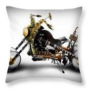 Custom Band II Throw Pillow by Alessandro Della Pietra