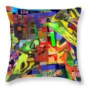 daas 1h Throw Pillow by David Baruch Wolk