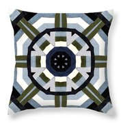 Daddy's Denims Quilt Throw Pillow by Barbara Griffin