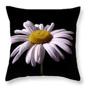 Daisy Throw Pillow by David Dehner
