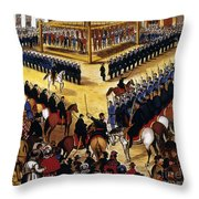 Dakota Uprising 1862 Throw Pillow by Granger