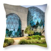 Dali Museum St Petersburg Florida  Throw Pillow by Mal Bray