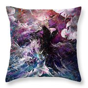 Dance In The Seas Throw Pillow by Rachel Christine Nowicki