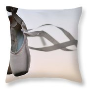 Dance With The Wind Throw Pillow by Laura Fasulo