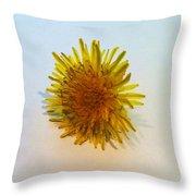 Dandelion II Throw Pillow by Anna Villarreal Garbis