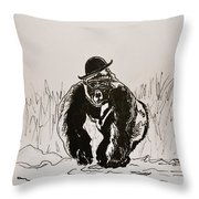 Dapper Throw Pillow by Beverley Harper Tinsley