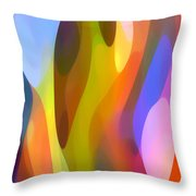 Dappled Light 3 Throw Pillow by Amy Vangsgard