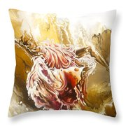 Dare Throw Pillow by Karina Llergo