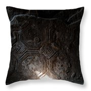 Dark Corners Throw Pillow by Marion Galt