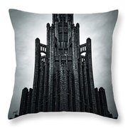Dark Grandeur Throw Pillow by Andrew Paranavitana