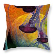 Dark Side Of The Moon 5D24939 Painterly m56 Long Throw Pillow by Wingsdomain Art and Photography
