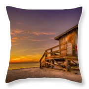 Day Before Spring Break Throw Pillow by Marvin Spates