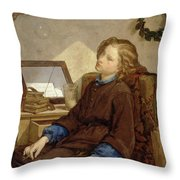 Day Dreams Throw Pillow by Thomas Couture