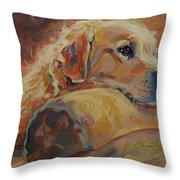 Daydream Throw Pillow by Kimberly Santini