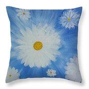 Daydreamin Daisy Throw Pillow by Iamthebetty Tbone