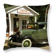 Days Gone By Throw Pillow by Kathleen Struckle