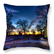 Deadly Silence    Throw Pillow by Reid Callaway