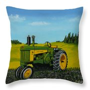 Dear John Throw Pillow by Anthony Dunphy