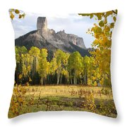 Deb's Meadow Throw Pillow by Eric Glaser